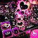 Sparkling Heart Keyboard Theme by Fashion News
