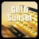 Gold Sunset Keyboard by Keyboard Tema Designer