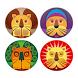 Vier Leeuwen by YepMedia