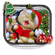 Christmas Tree Cute Kitty Keyboard by Ace Keyboard Theme