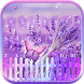 Lilac Lavender Keyboard theme by hot keyboard themes