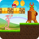 super pink panther into lava world adventure by kidsmediasys