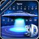 3D Laser Spaceship Theme&Emoji Keyboard by Cool Keyboard Theme Design