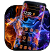 Flame Fire Edge Effect Theme by Astonish Themes Studio