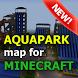 Aquapark map for Minecraft