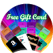 Pro Gift Cards generator that works Free Gift Card by SATORDI APPS