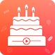 Happy Birthday Video Maker by Office No.786