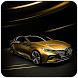 Gold Car Theme Luxury by Theme Dreamer