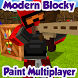 Modern Blocky Paint Online by ComyGames