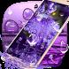 Purple Water Drops Theme by Lele Theme Studio