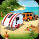 Camper Caravan Truck Driving Simulator:Beach Games by Zygon Games