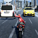 City Traffic Moto Rider by Stone Collections