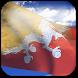 3D Bhutan Flag by App4Joy