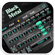 Black Metal Keyboard by Echo Keyboard Theme