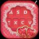 Love Heart Valentine Keyboard by True Fashionista Apps