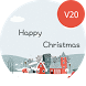 Christmas Light Theme for LG G5 & V20 by WSTeams