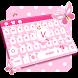Pink Cute Keyboard by Keyboard Tema Designer