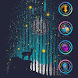 Colorful Stars by Launcher phone theme