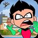 Titans Run Robin Dash by GamingAddict