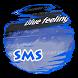 Blue feeling S.M.S. Skin by Electric neon