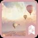 Air Balloon dream Travel Launcher theme by SK techx for themes