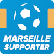 Marseille Foot Supporter by Bienlune Studio