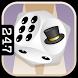 New Years Backgammon by 24/7 Games llc