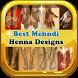 Best Mehndi henna Designs 2017 by dev6_6