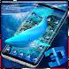 3D Blue Whale Simulator Theme by Elegant Theme