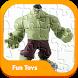 Puzzle Hulk Superhero Toys Kids by Funtoyscollectors