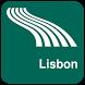 Lisbon Map offline by iniCall.com
