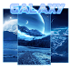Asteroids 3D Galaxy by Keyboard and HD Live Wallpapers