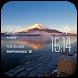 Mount Fuji1 weather widget by Widget Innovation