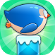 Jumpy Penguin by clopmob