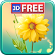 3D Flowers Live Wallpaper Lite by Live Wallpapers 3D
