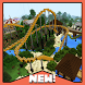 Attraction Park Minecraft map by Bopin