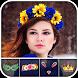 Kawaii Photo - Flower & Heart Crown Photo Editor by Simply Entertaining