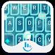 Blue Light Bubble Keyboard by TouchPal HK
