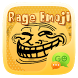 FREE-GO SMS RAGE EMOJI STICKER by We Themes