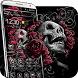 3d blood rose skeleton theme by cool theme creator
