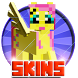 Cute Skins Pony for Minecraft by vkgames