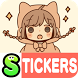 Frank-remark Stickers Free by peso.apps.pub.arts