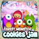 Forest Monster Cookies Jam by Bandrex Studio