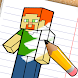 How to draw Minecraft by CRAFTLAB