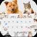 Cute Cat Dog Keyboard by Keyboard Design Paradise