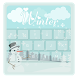 Winter Theme Beauty Keyboard by Trend Best Apps