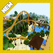 Attraction Park. Map for Minecraft PE by olpash