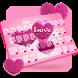 Hairy Love Heart Keyboard by Keyboard Tema Designer