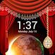 Curtain Lock Screen by RP infosoft