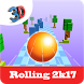 Rolling 2k17 - Roll The Ball by RBGA Canvas